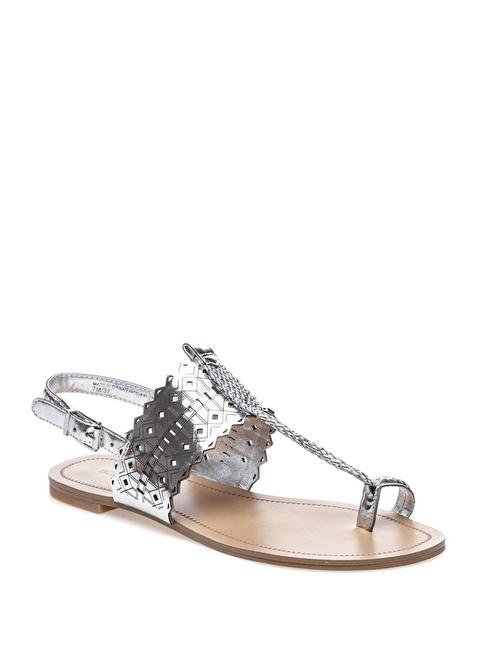 BCBGeneration Sandalet Gümüş
